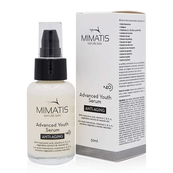 Sérum facial para pieles maduras de Mimatis