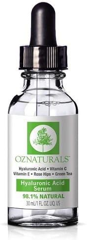 oz naturals serum acido hialuronico