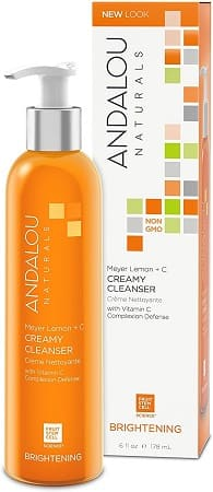 Andalou Meyer Lemon Creamy Cleanser