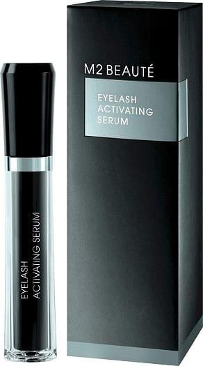m2 beauté eyelash activating serum